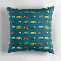 Blue Truck's and Van's Cushion Cover 16 inch