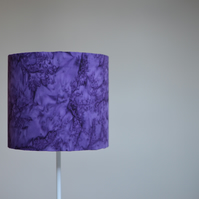 30cm Purple lampshade, plain, solid