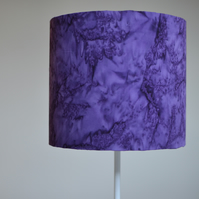 20cm Purple lampshade, plain, solid