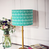 20cm Green scandi lampshade