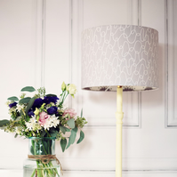 20cm Grey Scandinavian Lampshade