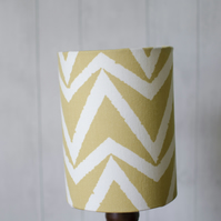 30cm Scion Yellow and White Lamp shade