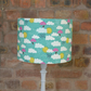 20cm Blue Clouds and Umbrellas Lampshade