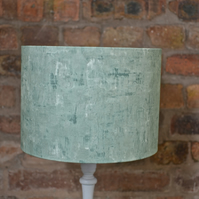 20cm light green plain lampshade