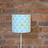 Blue Whales Nursery Bedroom Lampshade 30cm
