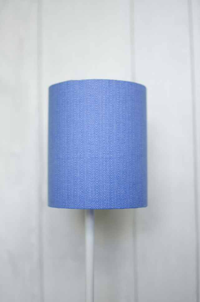 30cm Blue lamp shade, Plain lampshade, Simple lamp