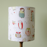 20cm owl nursery lampshade, Owl bedroom