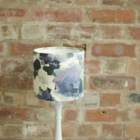 20cm Blue watercolour floral lamp shade