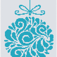 Christmas Ball 2 Cross Stitch Chart PDF