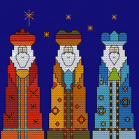 We Three Kings Cross Stitch Chart PDF