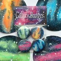 Galaxy Badge Pack