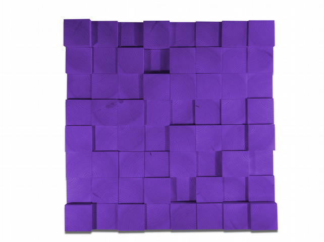 Wall Sculpture - A Purple One