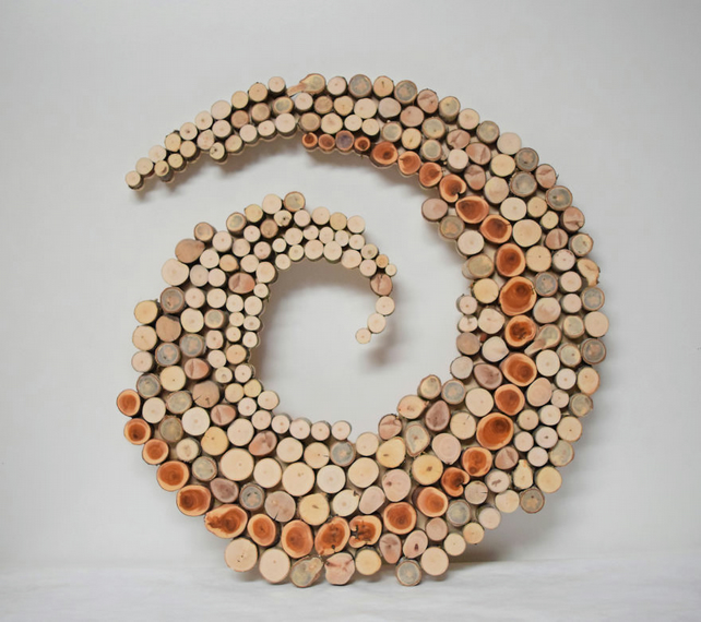 Logly, a Wall Sculpture