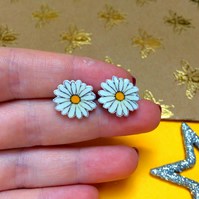 Daisy Earrings Studs