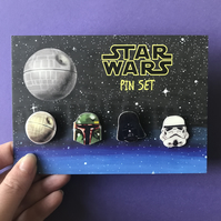 Star Wars Pin Set