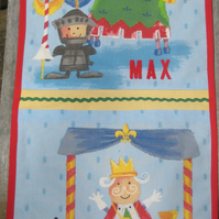 Personalised Boys' Room Tidy - Little Knight and King