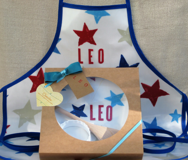 Personalised Children's Apron Gift Set- Boy or Girl