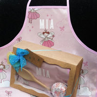 Personalised Children's  Fairy Apron Gift Set- Girls
