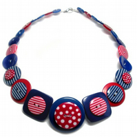 Jubilee Button Necklace
