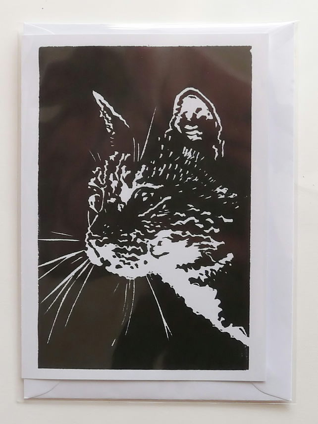 Cat (Oscar) Card