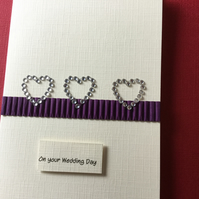On your wedding day card JM045
