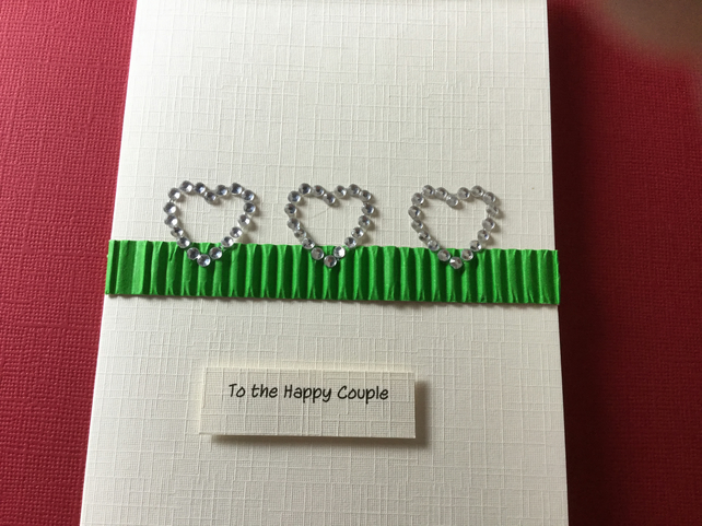 To the happy cuople card JM052