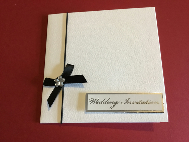 What To Include In A Wedding Invitation Pack: Pack Of 8 Wedding Invitation Cards JM177