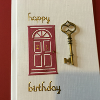 CC037 21st Birthday Card