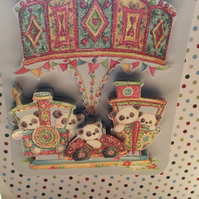 Fairground Fun Birthday Card