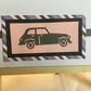 Die cut car card