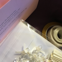 A beautiful DIY kit to make your own special Wedding Invitations.