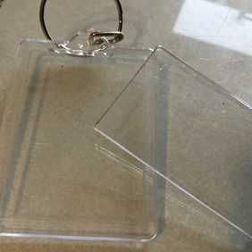 25 brand new acrylic keyrings to decorate yourself