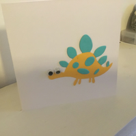 Cute dinosaur card suitable for any occasion