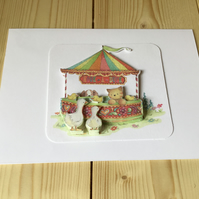 Hook a Duck card. Any occasion card CC219