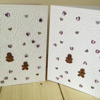Cute gingerbread couple wedding card. Any occasion Card CC234
