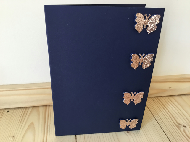 A pretty butterfly, any occasion card. CC250