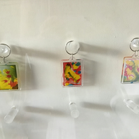 Multi colour keyring CC260