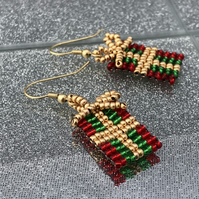Christmas Present Earrings
