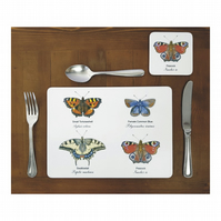 Butterfly Place mats - (Set of 4)