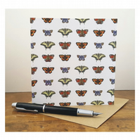 A Taxonomy of Butterflies - Greeting Card