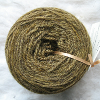 Hand-dyed Pure Jacob Double Knitting Wool Lichen 100g