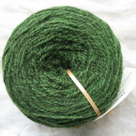 Hand-dyed Pure Jacob Double Knitting Wool Moss 100g