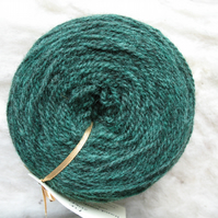 Hand-dyed Pure Jacob Double Knitting (Sport) Wool Fir 100g
