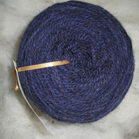 Hand-dyed Pure Jacob Double Knitting (Sport) Wool Clematis 100g