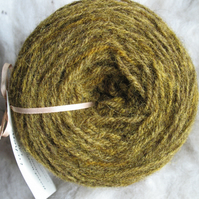 Hand-dyed Pure Jacob Light Aran Wool Lichen 100g
