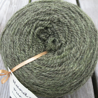 Hand-dyed Pure Jacob Double Knitting Wool Oak Leaf 100g