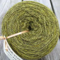 Hand-dyed Pure Jacob Aran Wool Wattle 100g
