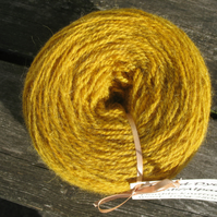 Hand-dyed Jacob & Alpaca Double Knitting (Sport) Wool Chamomile 100g