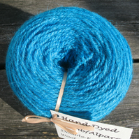 Hand-dyed Jacob & Alpaca Double Knitting Wool Opal 100g