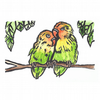 Love Birds Limited Edition Print
